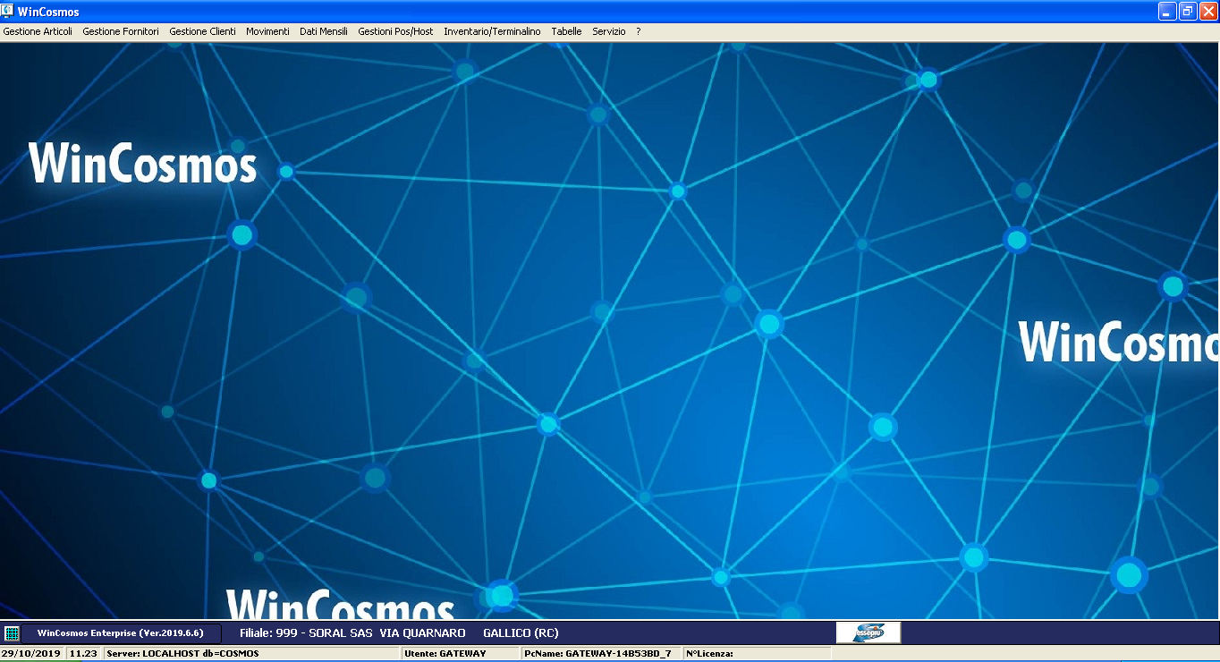 screenshot wincosmos